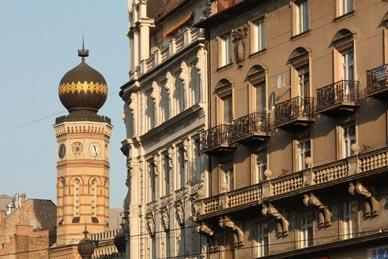 Alojarse en Erzsèbetvàros el barrio judio de Budapest