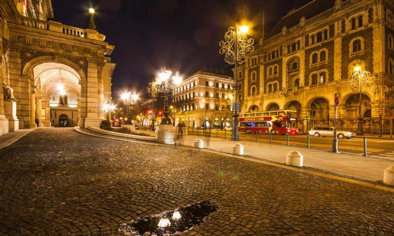 Foto de Avenida Andrássy en Budapest