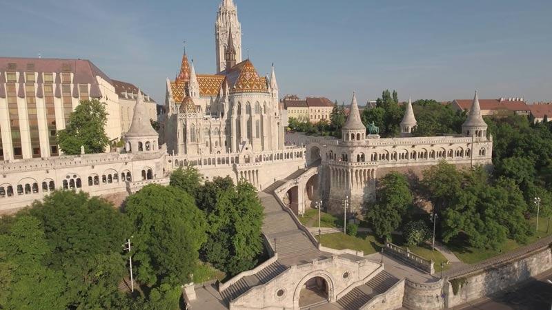 El mirador de la colina de Budapest