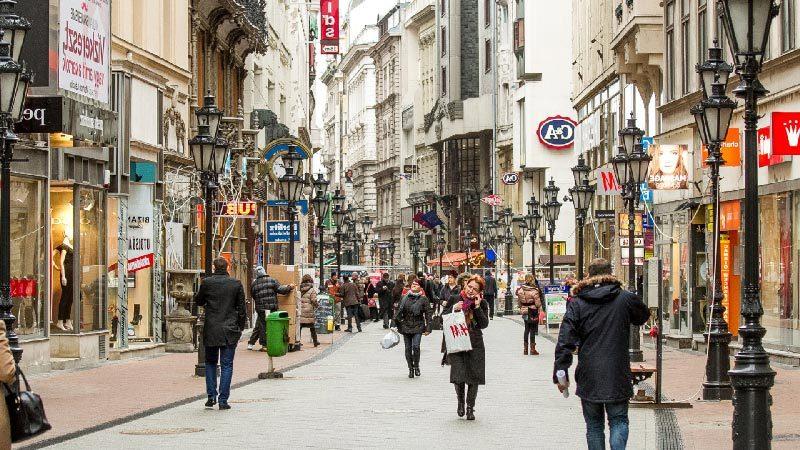 Calle Váci Utca