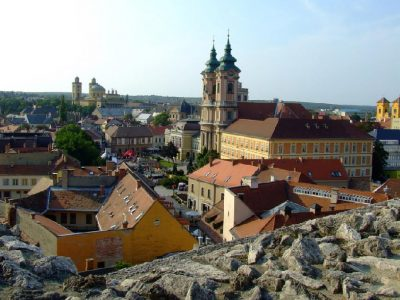 Castillo de Eger Hungria