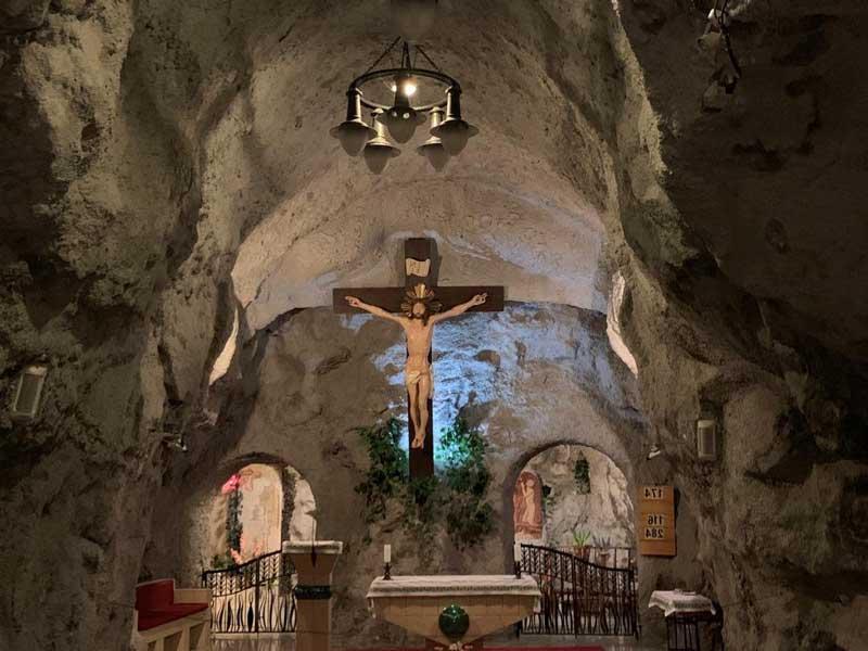 El Altar de la Iglesia Rupestre
