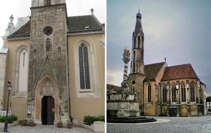 Iglesia de Cabra sopron