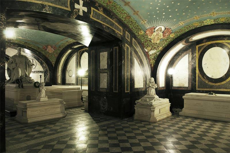 Interior Galería Nacional de Hungría