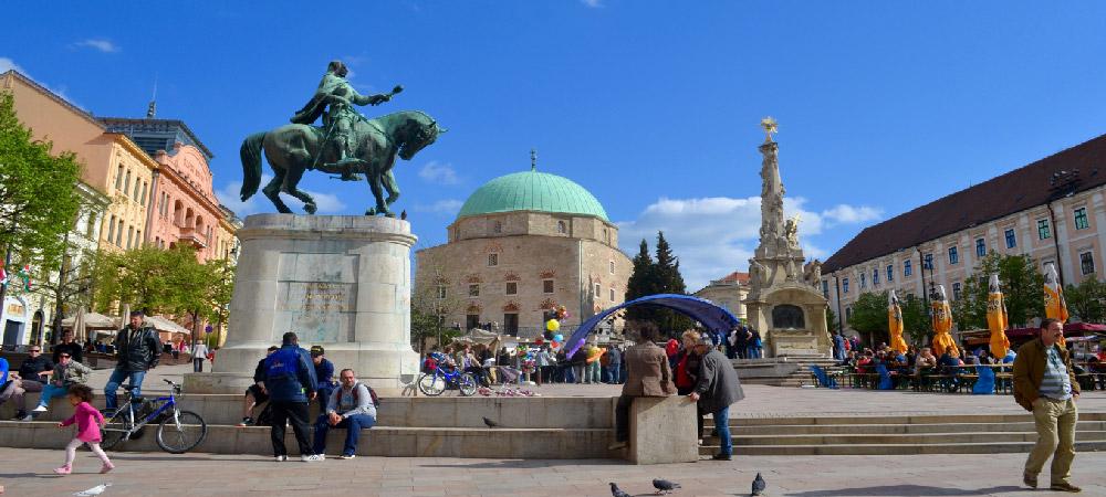 Viajar a Pécs
