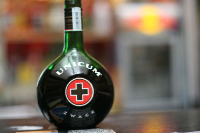 Unicum bebida típica de Budapest