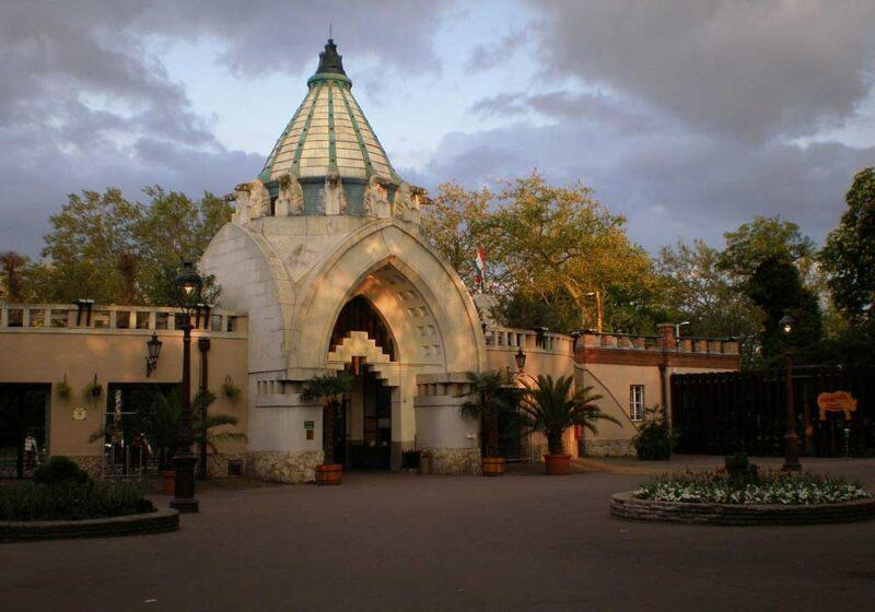 Zoológico y jardín botánico de Budapest